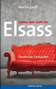 Buchcover, Grauer Hintergrund, im Vordergrund eine rote Couch
