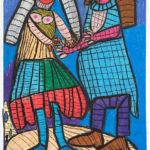 Hänsel und Gretel gemalt.