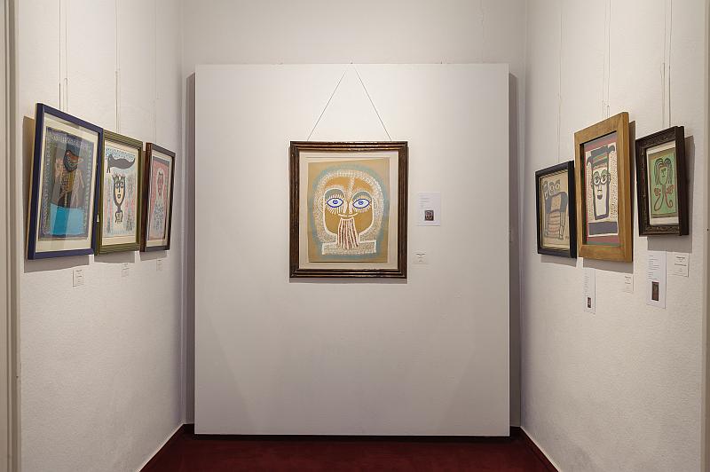 Foto eines Gemäldes in unseren Ausstellungsräumen