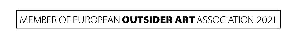 Logo: Member of the European Outsider Art Association 2021